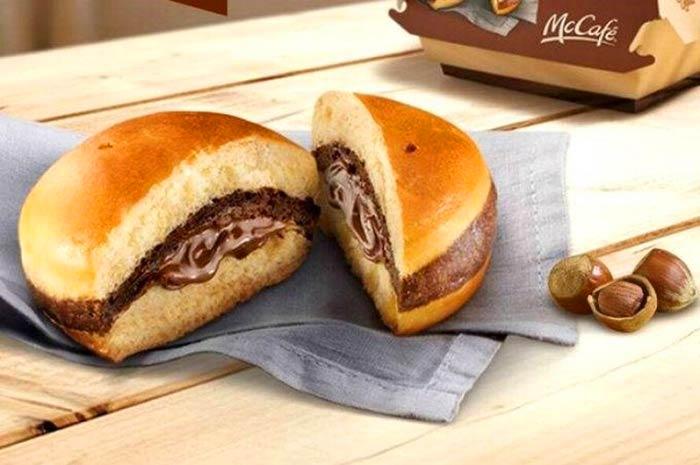 Hambúrguer de Nutella